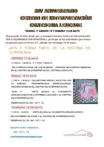 XIV ANIVERSARIO CONTREBIA LEUCADE