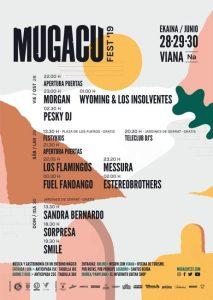 Cartel MugacuFest en Viana 2019