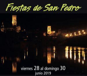 Cartel Fiestas San Pedro 2019