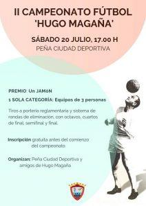 II campeonato de futbol Hugo Magaña