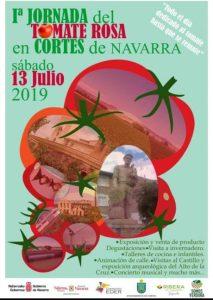 Cartel Tomate Rosa de Cortes 2019
