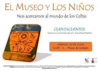 cuentacuentos museo Castejón