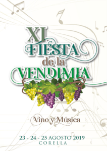 Fiesta de la vendimia 2019 en Corella