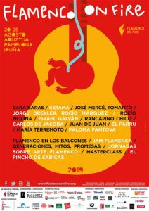 Flamenco On Fire 2019 en Pamplona