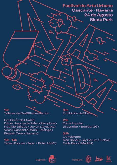 Festival de arte urbano Azada