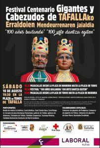festival centenario gigantes Tafalla