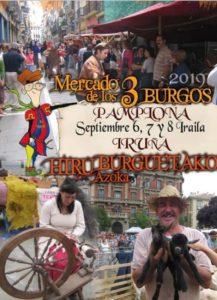 MERCADO DE LOS 3 BURGOS PAMPLONA 2019