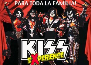 Cartel Kiss Experience, espectáculo de rock familiar