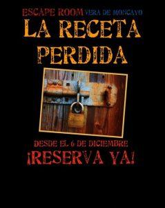 Escape room en Vera de Moncayo