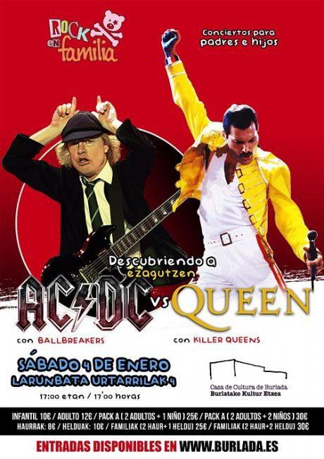 Descubriendo a AC,DC vs Queen