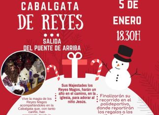 Cabalgata de Reyes de Ribaforada