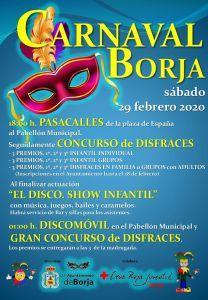cartel carnaval en borja