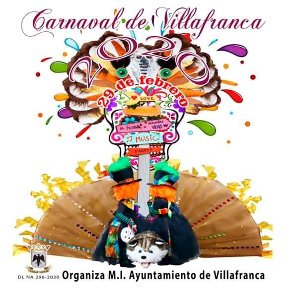 Cartel Carnaval Villafranca 2020
