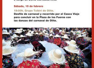 Cartel Carnaval rural Falces