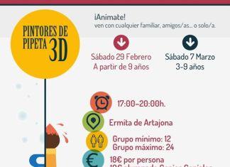 PINTORES DE PIPETA 3D ARTAJONA