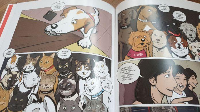 perro, libro, pipper