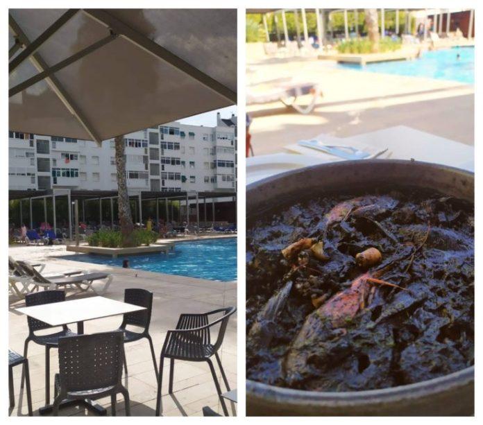 Blaumar Hotel familiar bar piscina