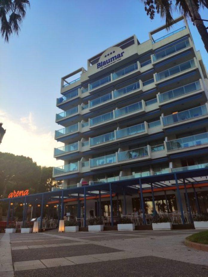 Blaumar Hotel familiar fachada
