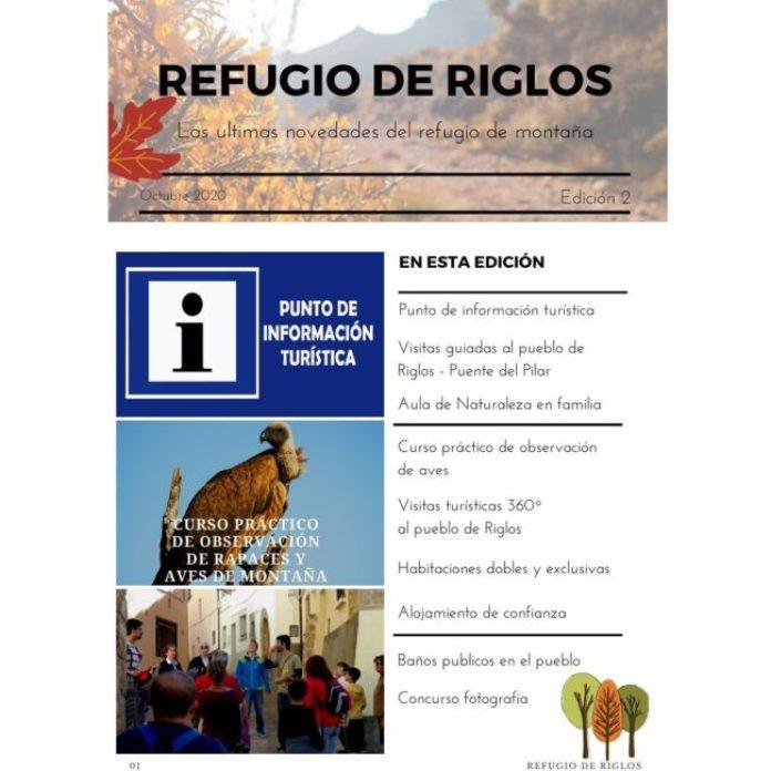 PROGRAMA OTOÑO REFUGIO DE RIGLOS