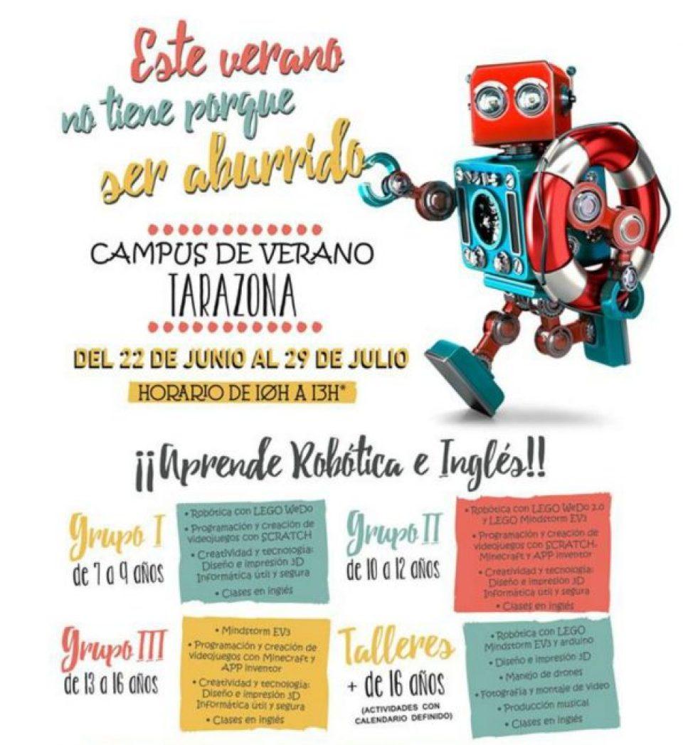 Roboted campus Tarazona