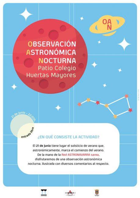 Observación de estrellas en Tudela