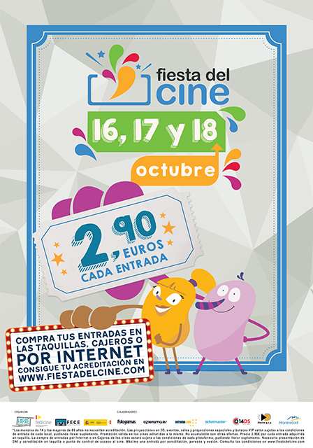 La Fiesta del Cine 2017 en Tudela y más