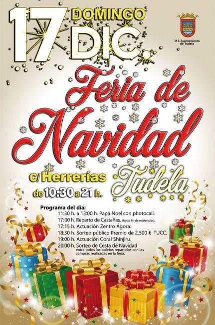 Feria de Navidad en Tudela