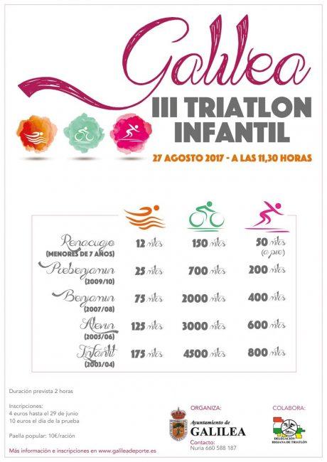 TRIATLÓN EN FAMILIA GALILEA