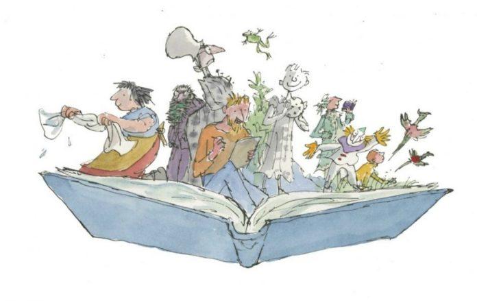Ilustración (c) Quentin Blake