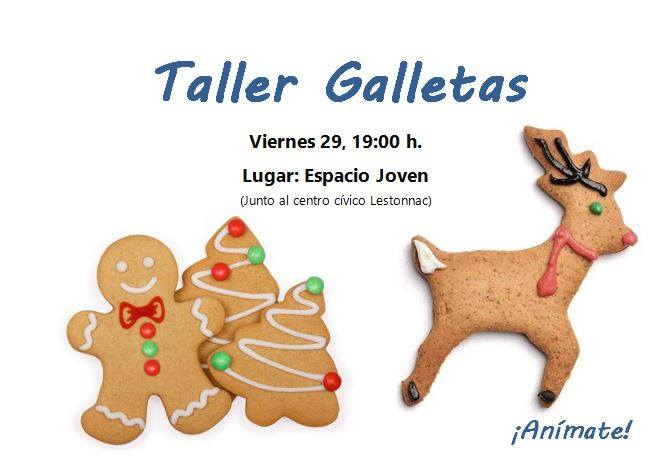 TALLER GALLETAS