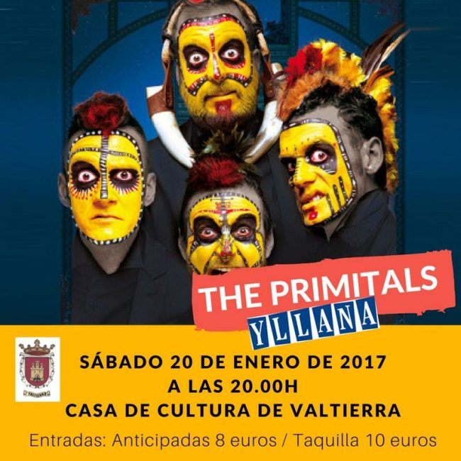 The Primitals en Valtierra