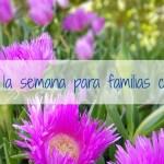 Agenda de la semana para familias con ganas. Del 12 al 18 de mayo