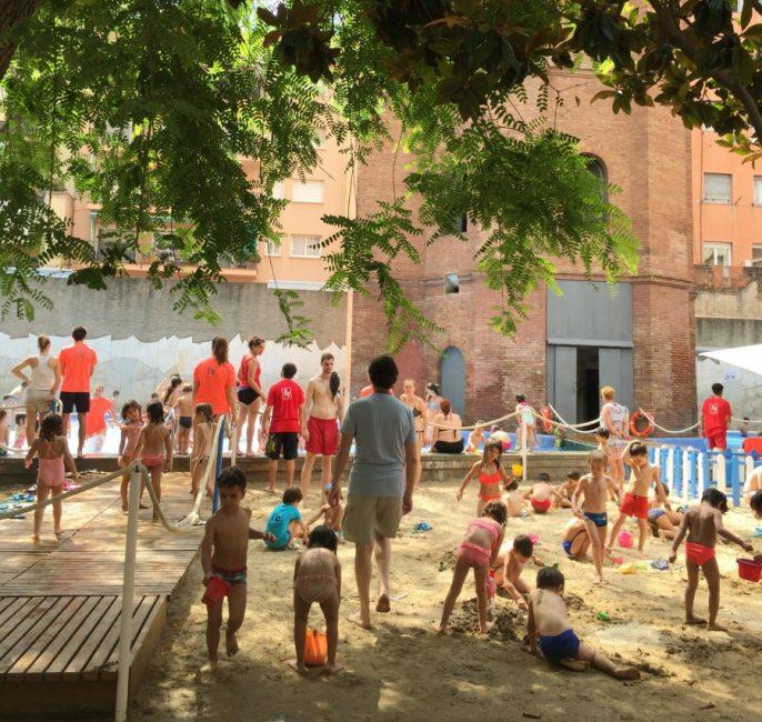 barcelona playa del ensanche