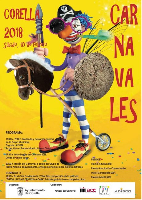 carnaval en corella 2018