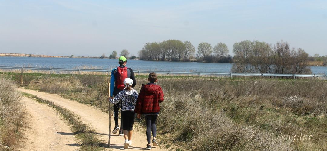 Senderismo con niños por la Ribera (primera ruta): Laguna de Lor