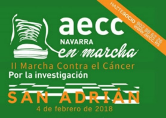 marcha cancer San Adrián