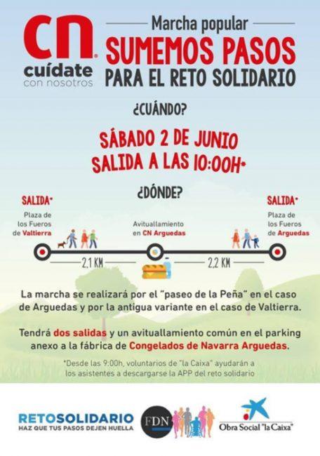 Marcha Popular - Sumemos Pasos Para El Reto Solidario