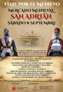 mercado medieval San Adrián 2018