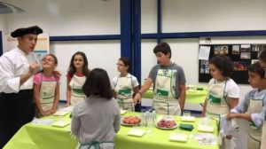 talleres cocina niños Pamplona