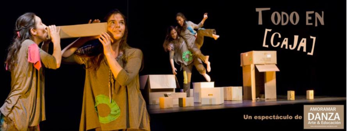 Todo en caja, Teatro Arbolé, Zaragoza