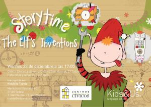 Storytime, The Elf's Inventions, Kids&Us Tudela