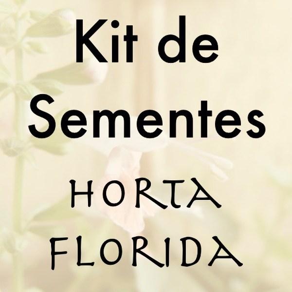 Kit de Sementes - Horta Florida