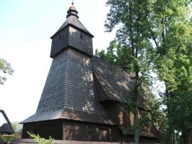semestafakta- wooden church in Hervartov