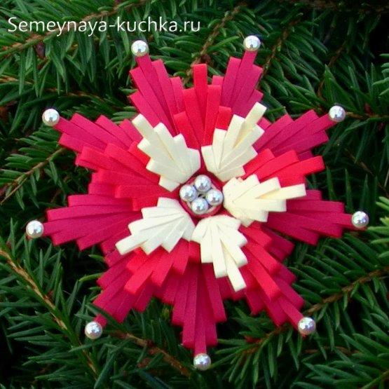 گل کاغذ کریسمس
