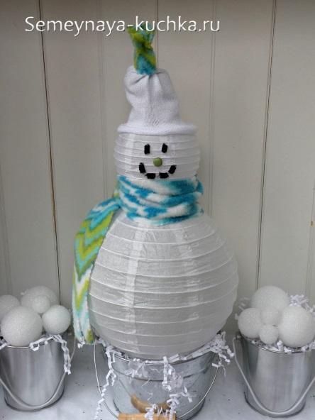 Giấy Snowman Make.