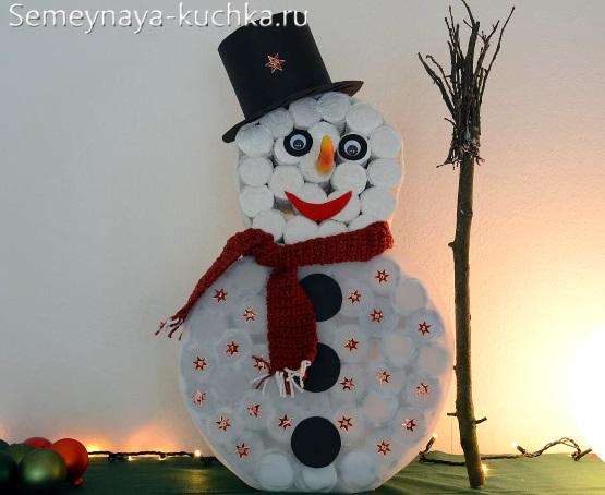 Снеговик оны өзіңіз жасаңыз