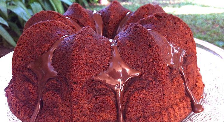 Bolo de Chocolate para Celíacos sem Glúten