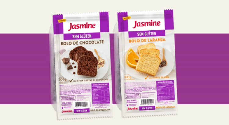 Jasmine lança bolos sem glúten