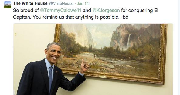 obama dawn wall