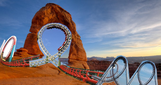 featured delicate arch rollercoaster